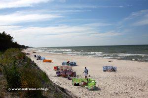 Ostrowo plaża nadmorska